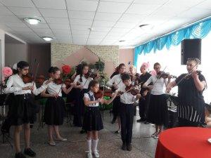 Класс  скрипки