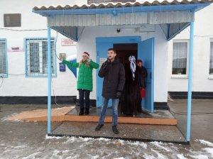 Праздничное открытие новогодней ёлки в селе Койдан