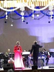 Выступление оркестра народных инструментов «Сувенир»