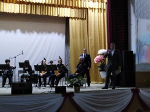 Ансамблю народных инструментов «Акварель» - 15 лет!
