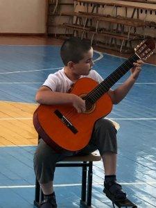 Концерт МКДМШ в пришкольных лагерях